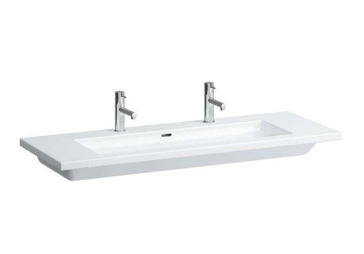 Washbasin, also usable as double washbasin