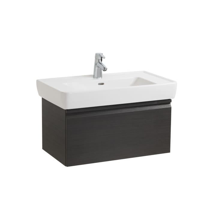 Vanity unit, 1 drawer and interior drawer, incl. drawer organiser, matches washbasin 813956