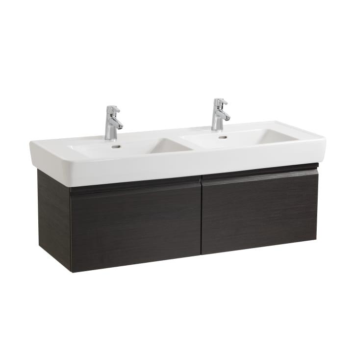 Vanity unit, 2 drawers, incl. drawer organiser, matches washbasin 814967