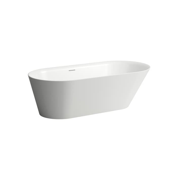 Freestanding bathtub, made of Sentec solid surface