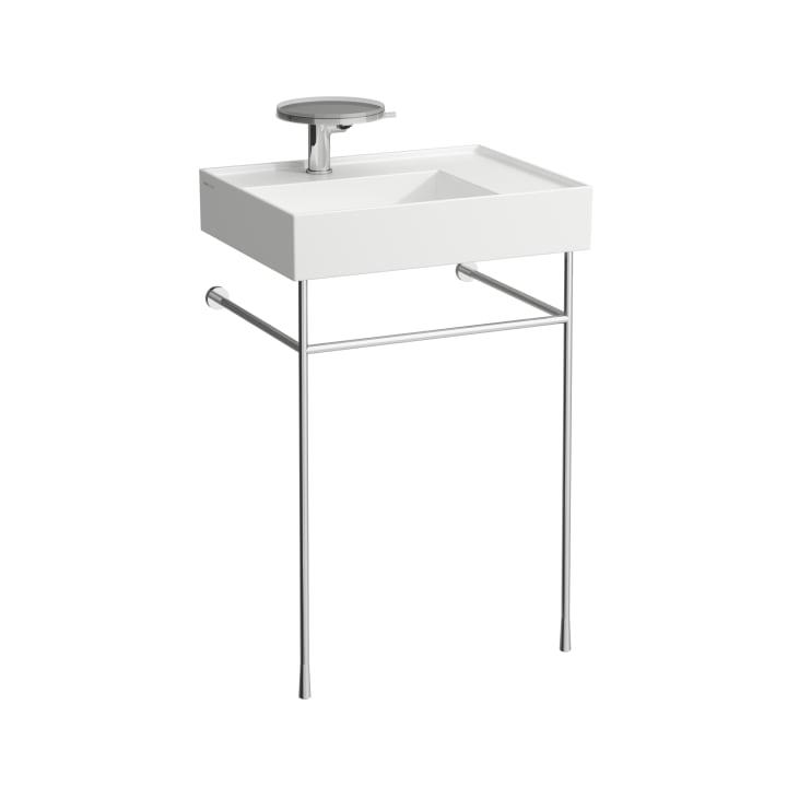 Washbasin frame, chromed, matches washbasins 810333, 810334, 810335