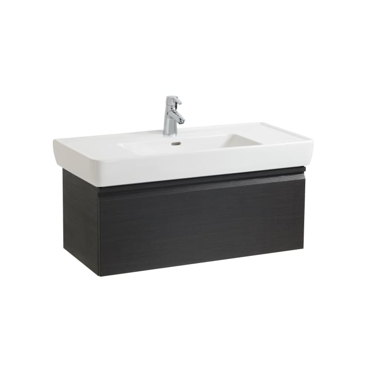 Vanity unit, 1 drawer and interior drawer, incl. drawer organiser, matches washbasin 813958