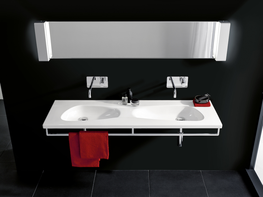 Design Doppelwaschtisch.Palomba Collection Total Bathroom Sets Collections Laufen