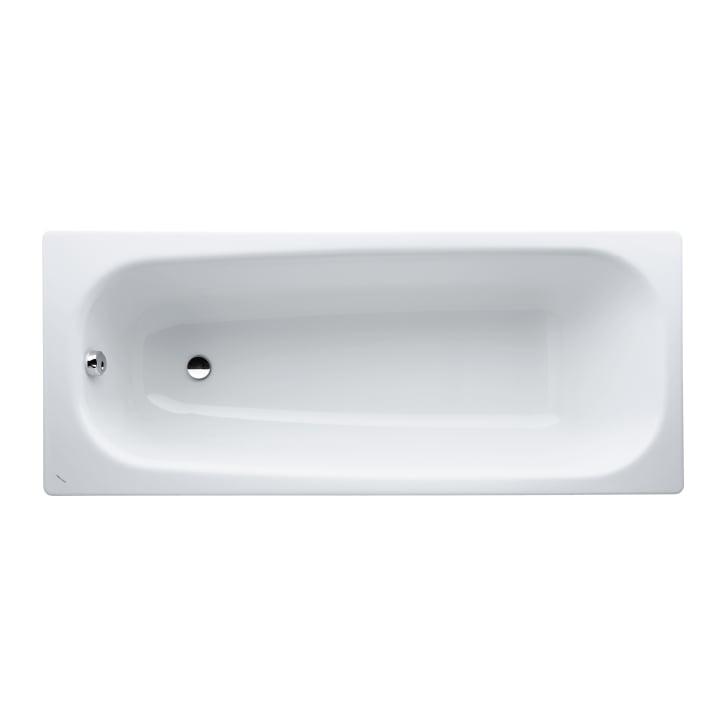 Bathtub, drop-in version, steel/enamel 3.5 mm