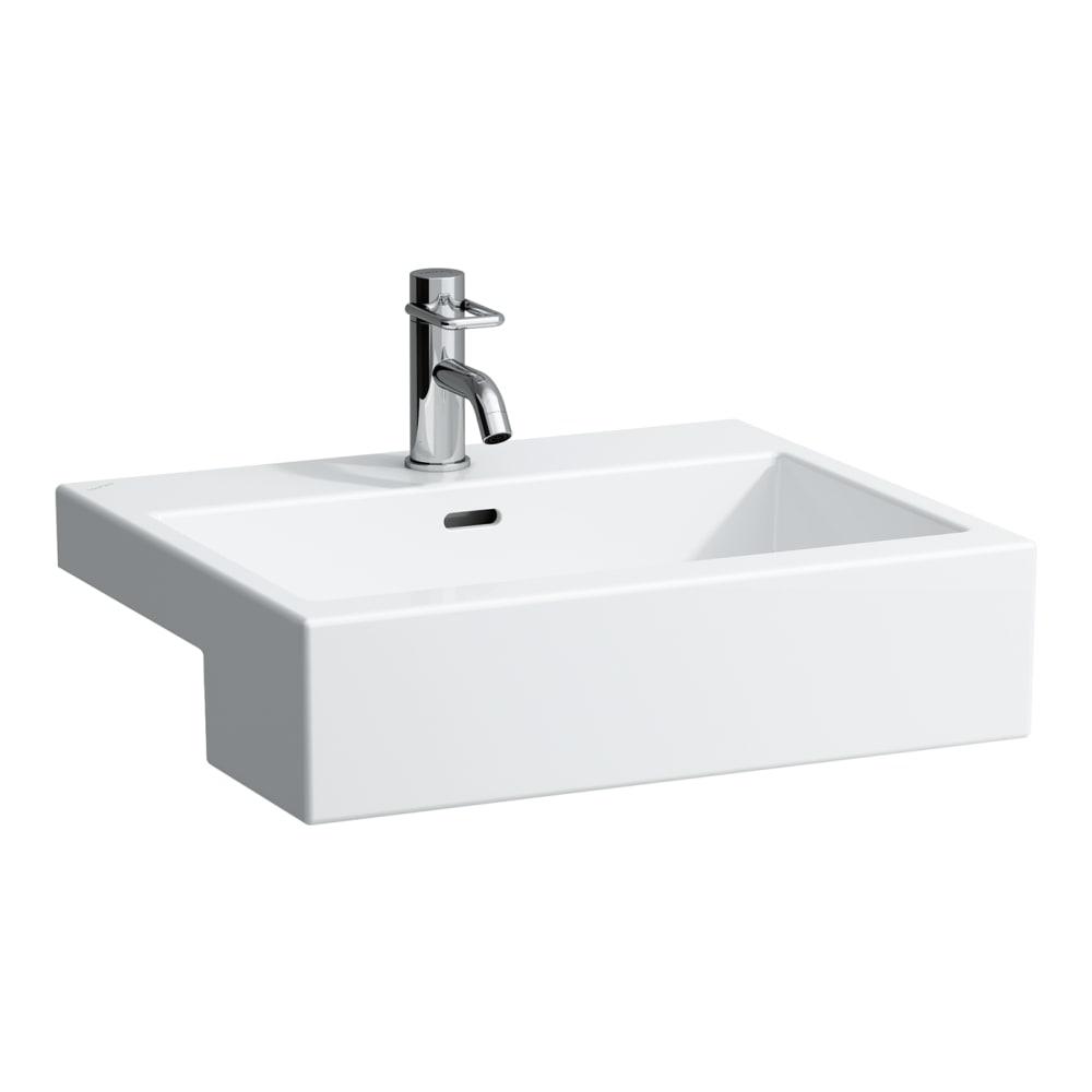 Semi Recessed Washbasin Rectangular Laufen Bathrooms
