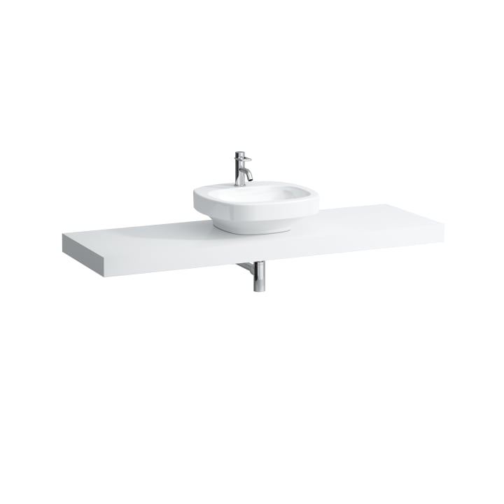 Countertop, 1600 mm, with centre cut-out
