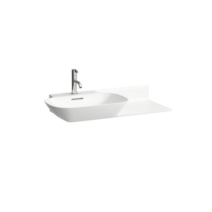Vanity washbasin, shelf right