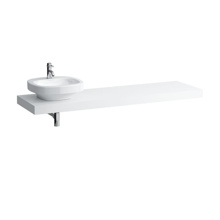 Countertop, 1800 mm, with cut-out left