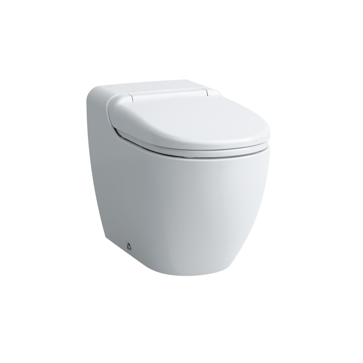 Shower toilet floorstanding with remote control, siphonic, 220 – 240V~, 50/60Hz, with plug for Hong Kong, Singapore, Malaysia