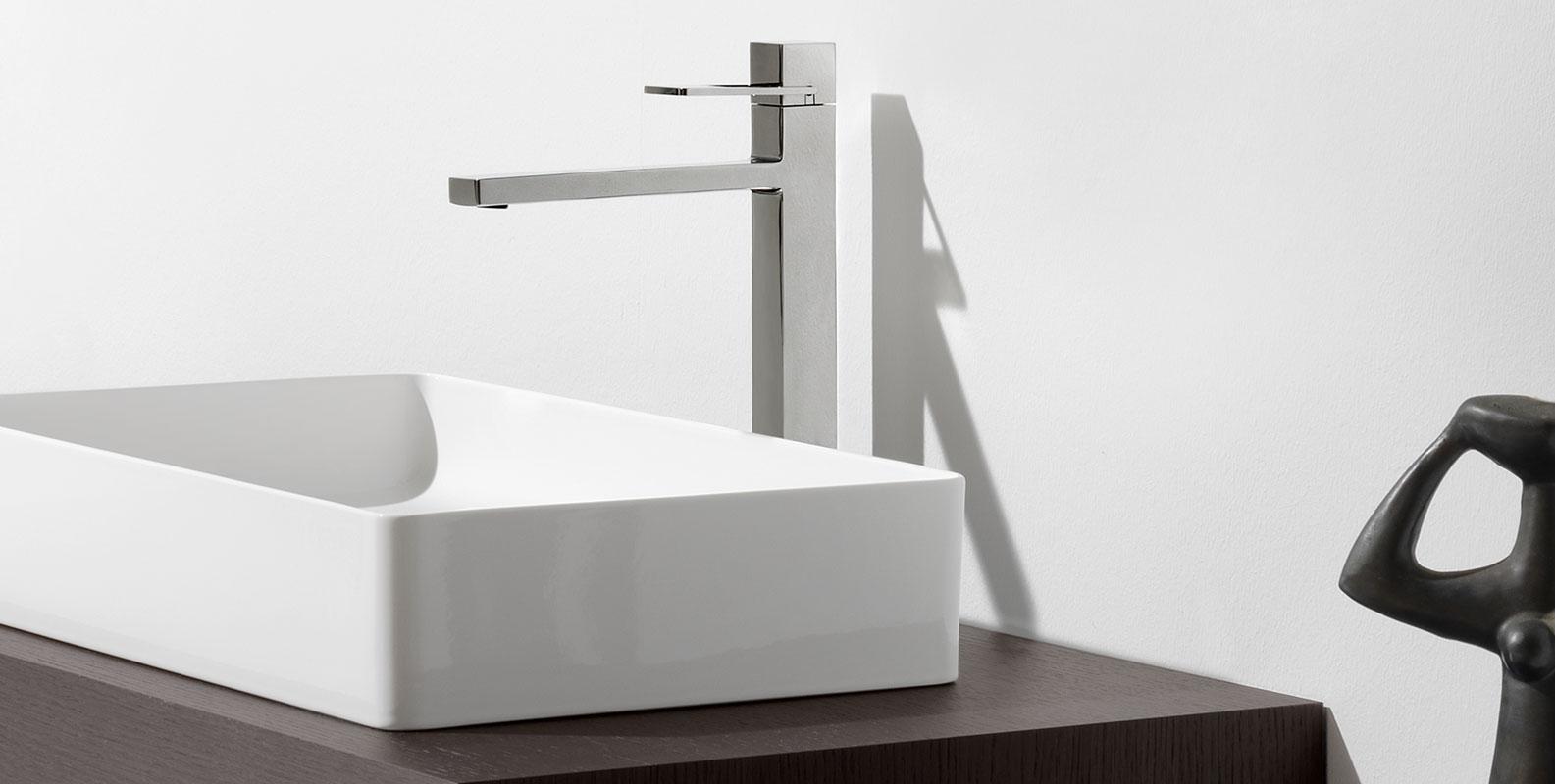 quadriga, faucetes, design, bathroom, laufen