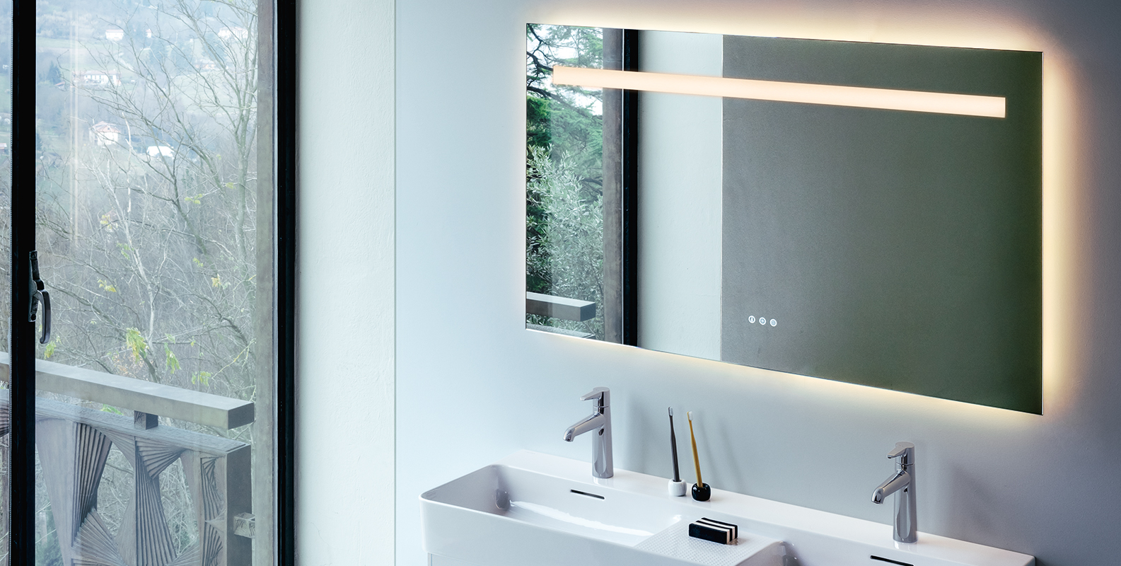 leelo, mirror, design, laufen, bathroom