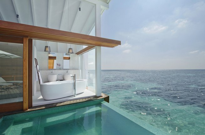 Kandolhu Island Resort, Maldives, hotel, design