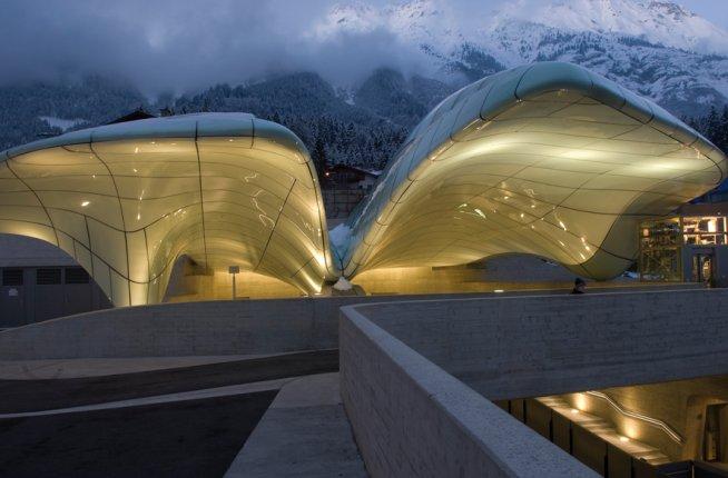 Hungerburg Funicular, design, architecture