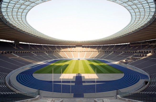 Olympic Stadium, design
