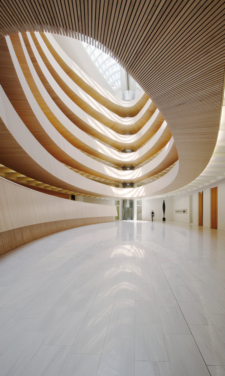 Library of the Institute of Law, architecture, design