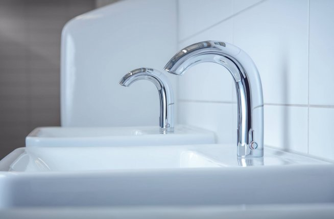laufen, faucet, smart solution