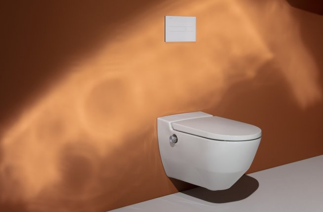navia, toilet, shower toilet, cleanet, laufen
