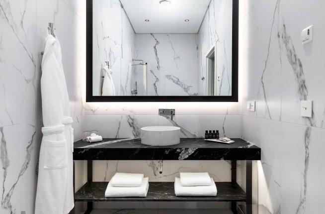 Hotel PACAI, hotel, design, bathroom