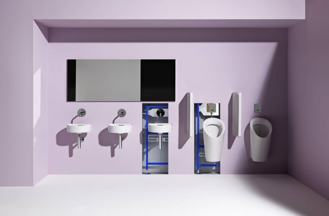 Laufen, LIS, installation system